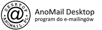AnoMail, program do korespondencji seryjnej.